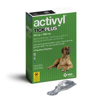 Activyl TickPlus X-Large Dog (40-60kg)