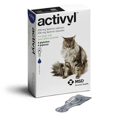 Activyl Spot On Large Cat (Over 4kg)