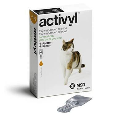 Activyl Spot On Small Cat (Up to 4kg)