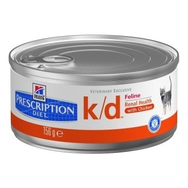 Hills Prescription Diet K/D Feline Minced with Chicken