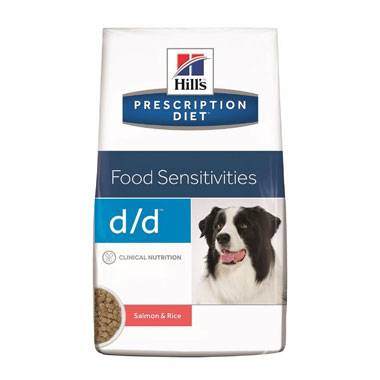 Hill's Prescription Diet D/D Canine Salmon/Rice