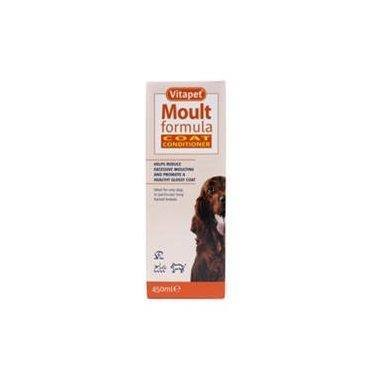 Vitapet Moult Formula Coat Conditioner for Dogs