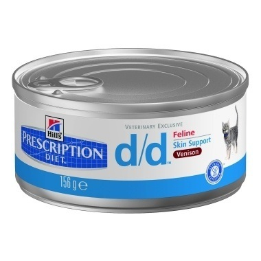 Hills Prescription Diet D/D Feline Minced with Venison