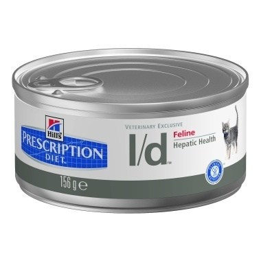Hills Prescription Diet L/D (hepatic) Feline Minced