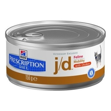 Hill's Prescription Diet J/D Feline Minced with Chicken