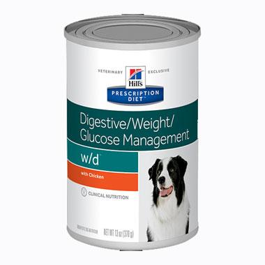 Hills Prescription Diet W/D Canine Wet