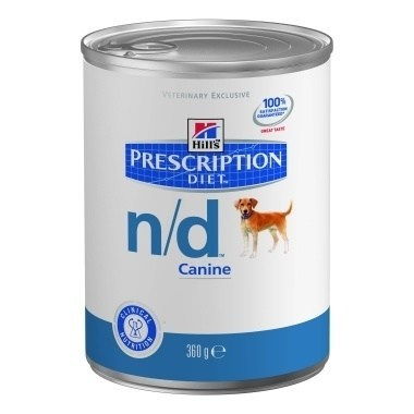 Hills Prescription Diet N/D Canine Wet