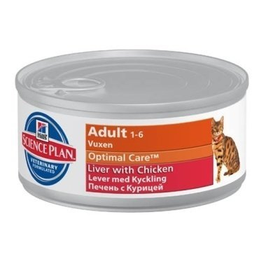 Hills Science Plan Feline Adult Wet Chicken and Liver