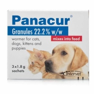 Panacur 22% Granules for Cats & Dogs