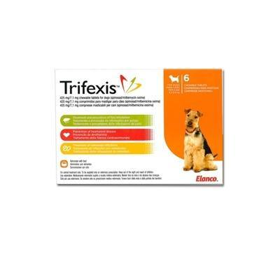 Trifexis Chewable Tablets 425mg/7.1mg
