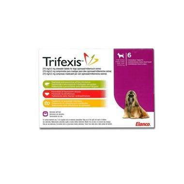 Trifexis Chewable Tablets 270mg/4.5mg