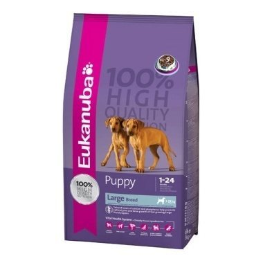 Eukanuba Puppy Dry Dog Food For Large Breed Chicken