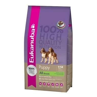 Eukanuba Ultimate Nutrition Puppy/Junior Lamb & Rice