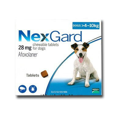 NexGard Medium Dog 28mg (4-10kg)