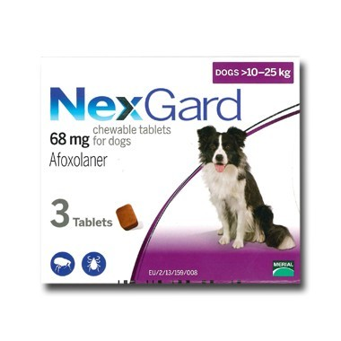 NexGard For Large Dogs 68mg (10-25kg)