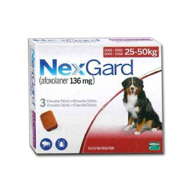NexGard For Extra Large Dogs 136mg (>25kg)