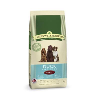 James Wellbeloved Adult Dog Duck & Rice Kibble