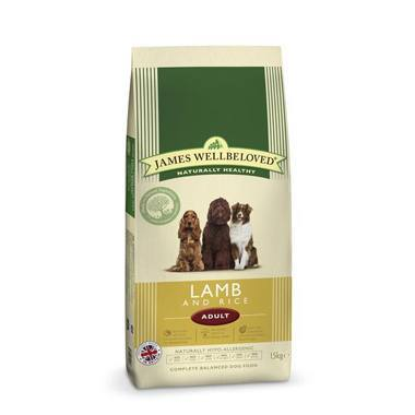James Wellbeloved Adult Dog Lamb & Rice Kibble