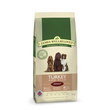 James Wellbeloved Adult Dog Turkey & Rice Kibble