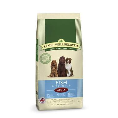 James Wellbeloved Adult Dog Fish & Rice Kibble