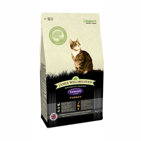 James Wellbeloved Cat Senior Turkey & Rice