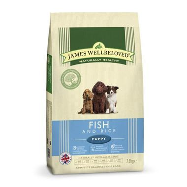 James Wellbeloved Puppy Fish & Rice Kibble