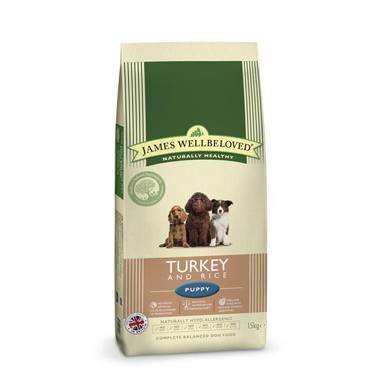 James Wellbeloved Puppy Turkey & Rice Kibble