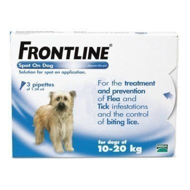 Frontline Spot On Medium Dog 10-20kg