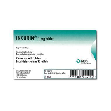 Incurin Tablets 1mg