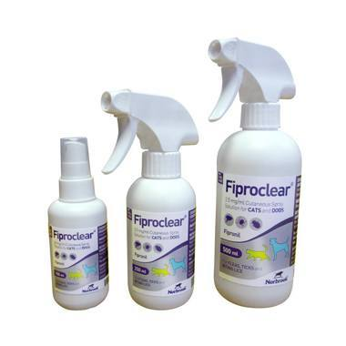 Fiproclear Flea Lice & Tick Spray For Cats And Dogs