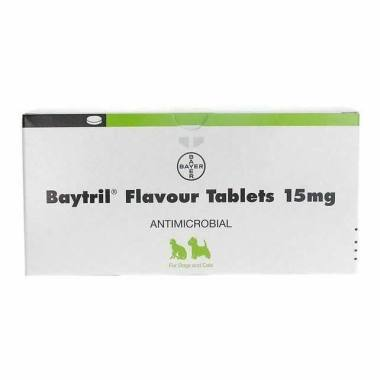 Baytril Flavour Tablets 15mg