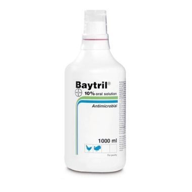 Baytril Oral Suspension Poultry 10%