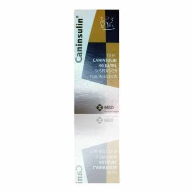 Caninsulin (40iu/ml) 25ml (10 x 2.5ml Vials)