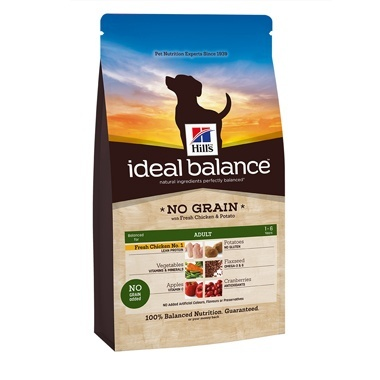 Hills Ideal Balance Canine Adult Medium Breed No Grain Chicken & Potato