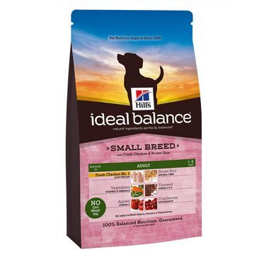 Hill's Ideal Balance Canine Adult Small Breed Chicken & Brown Rice