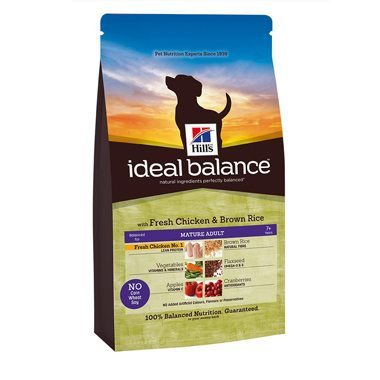 Hill's Ideal Balance Canine Mature Adult 7+ Chicken & Brown Rice