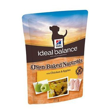 Hills Ideal Balance Canine Treats Oven Baked With Chicken & Apples