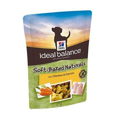 Hill's Ideal Balance Canine Treats Soft Baked With Chicken & Carrots