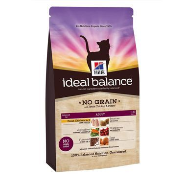 Hills Ideal Balance Feline Adult No Grain Chicken & Potato
