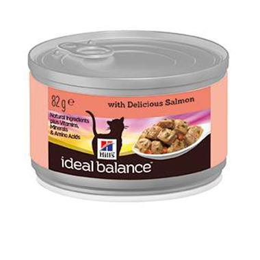 Hills Ideal Balance Feline Adult With Delicious Salmon