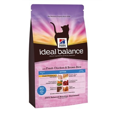 Hill's Ideal Balance Kitten Chicken & Brown Rice