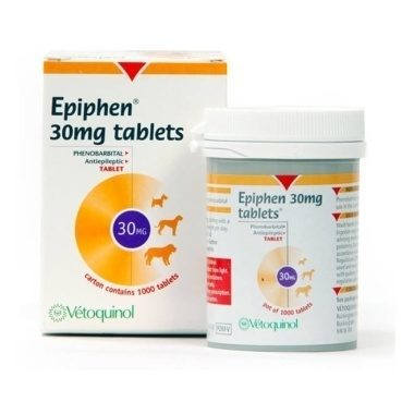 Epiphen Tablets (Phenobarbitone) 30mg
