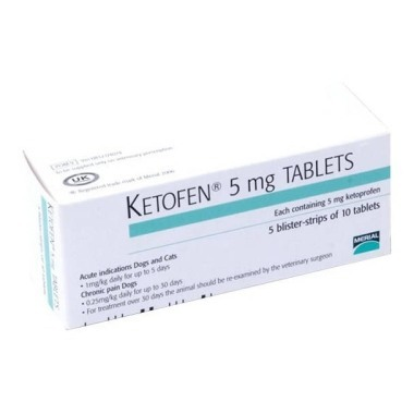 Ketofen Tablets 5mg