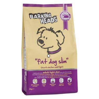 Barking Heads Fat Dog Slim Dry Adult (Chicken & Trout)