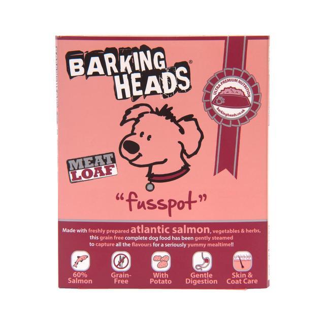 Barking Heads Fusspot Meatloaf (Adult Salmon Wet)