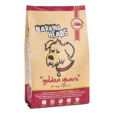 Barking Heads Golden Years (Senior Chicken & Fish)