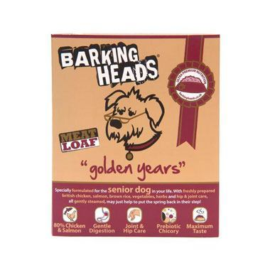 Barking Heads Golden Years Meatloaf (Senior Salmon Wet)