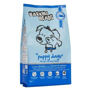 Barking Heads Puppy Days (Chicken & Salmon Dry)