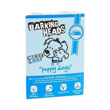 Barking Heads Puppy Days Meatloaf (Chicken Wet)
