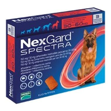 NexGard Spectra Chewable Tablets For Extra Large Dogs (30-60kg)